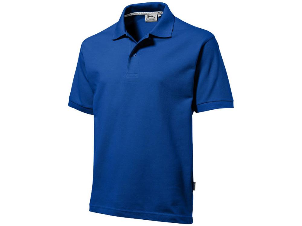 Рубашка поло Forehand мужская, классический синий