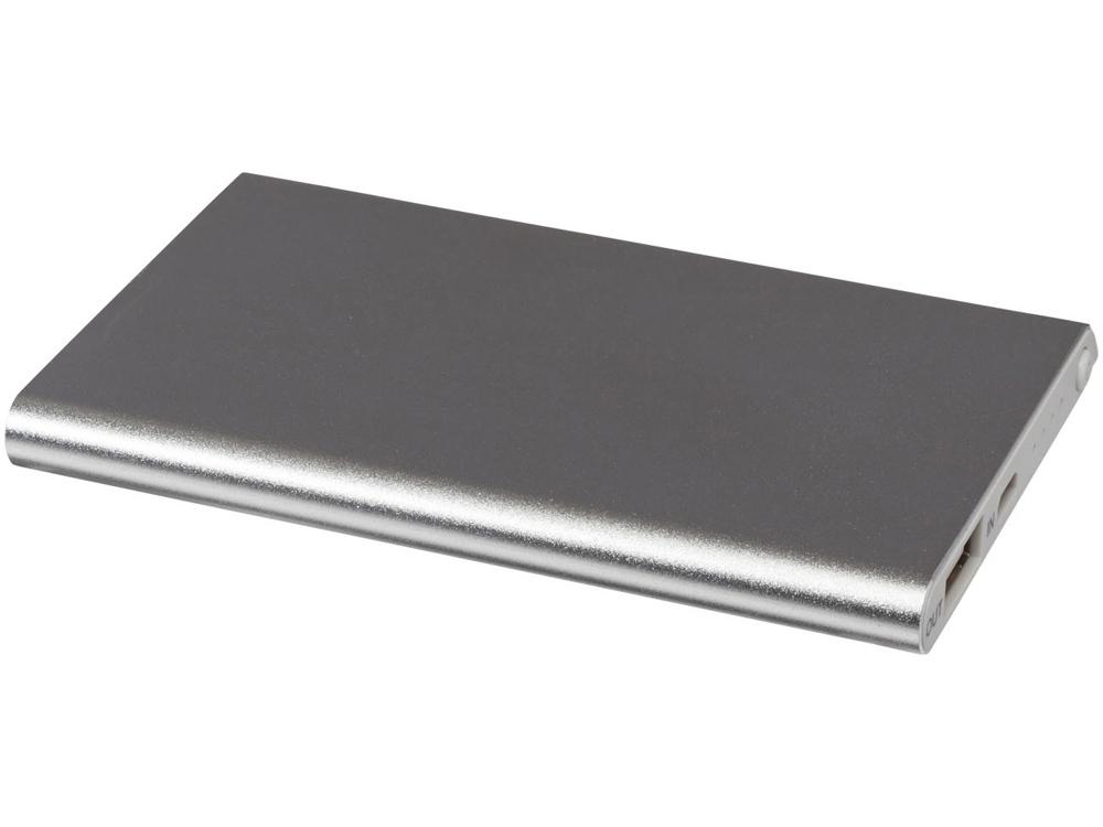 Портативное зарядное устройство Pep 4000 mAh, серебристый
