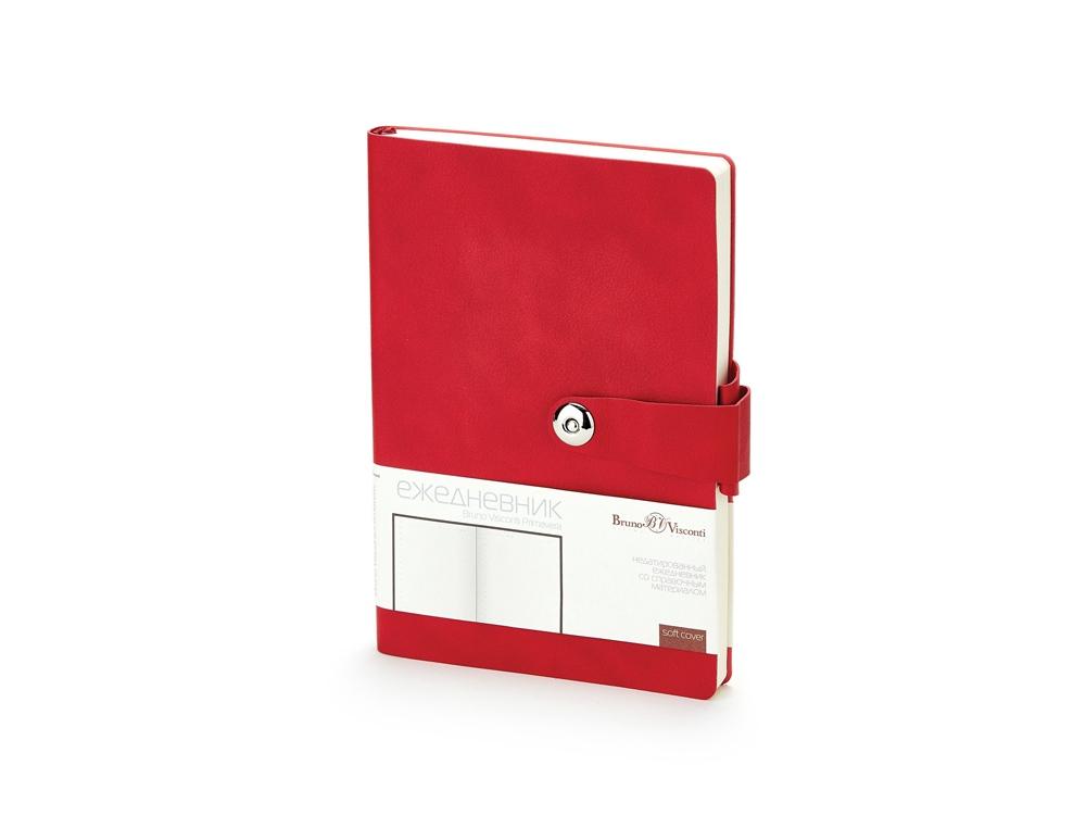 Ежедневник недатированный  А5 PRIMAVERA красный