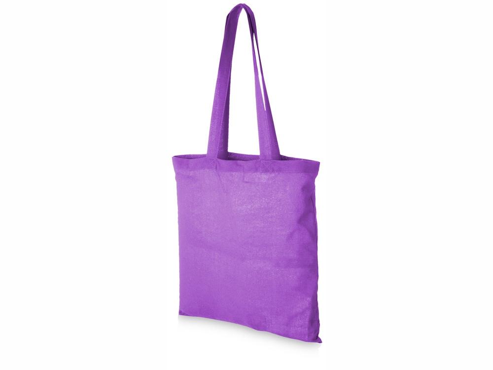 Сумка хлопковая Carolina, пурпурный