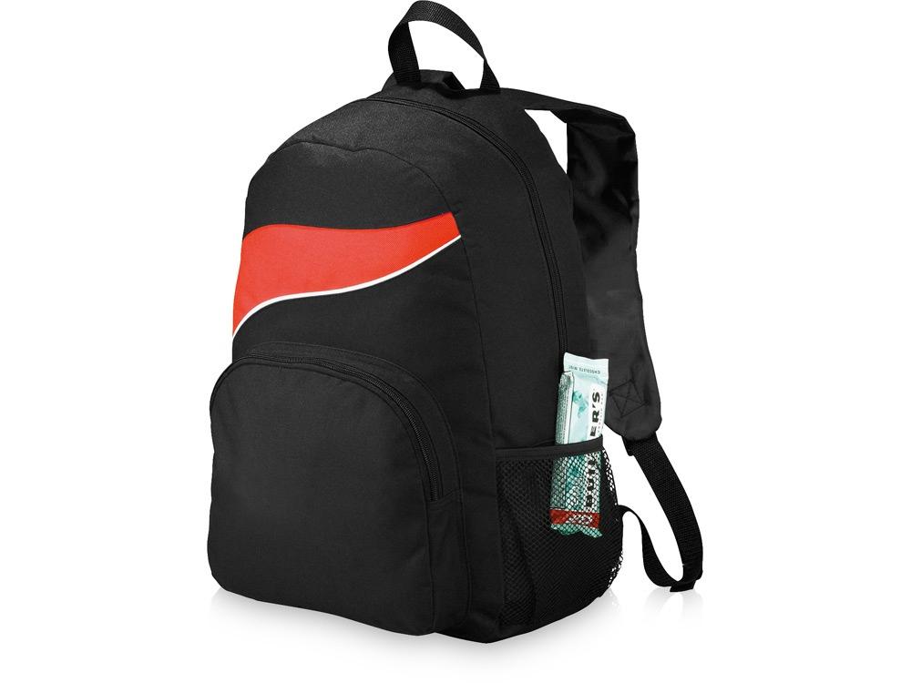Рюкзак Tornado, черный/красный