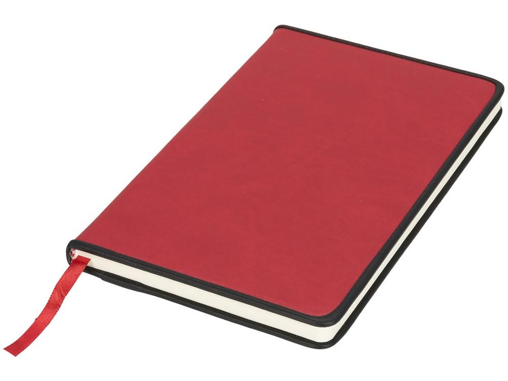 Блокнот Lincoln из ПУ, красный