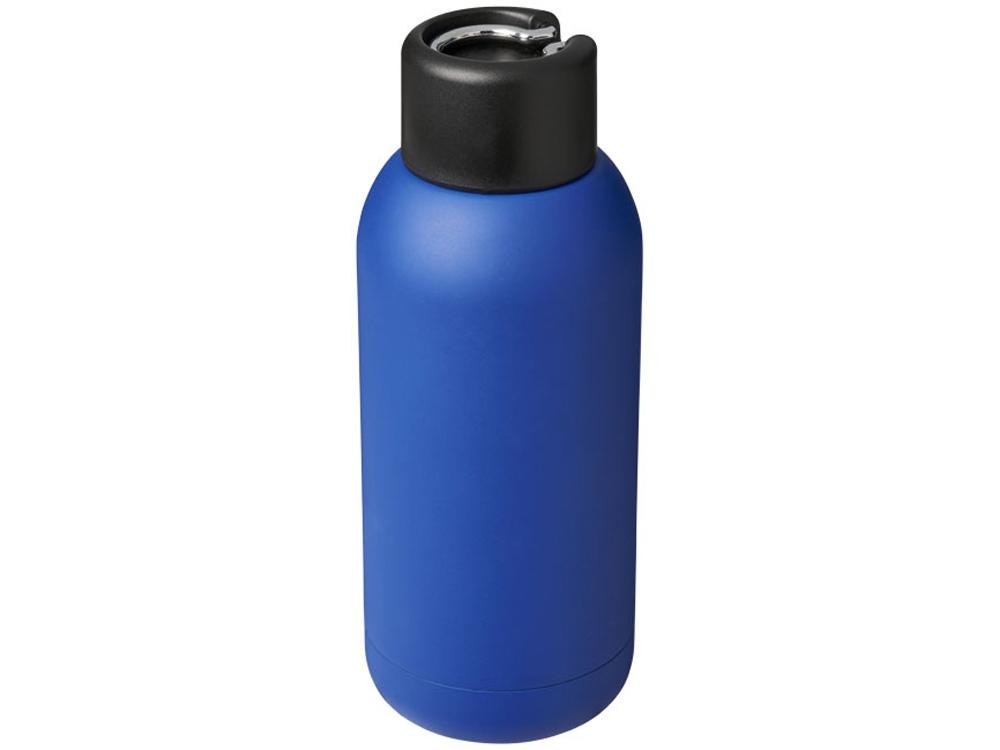 Спортивная бутылка с вакуумной изоляцией Brea объемом 375мл, cиний