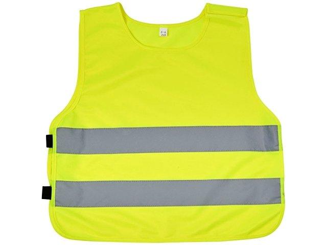Защитный жилет Marie на «липучке» для детей 7-12лет,  неоново-желтый