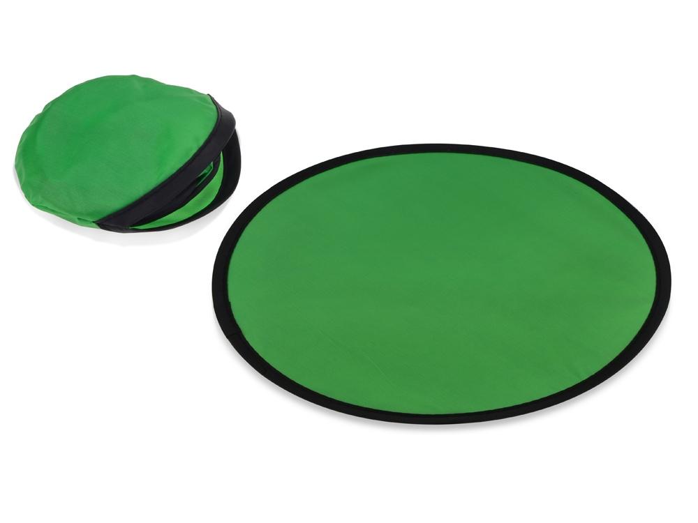 Летающая тарелка, зеленый