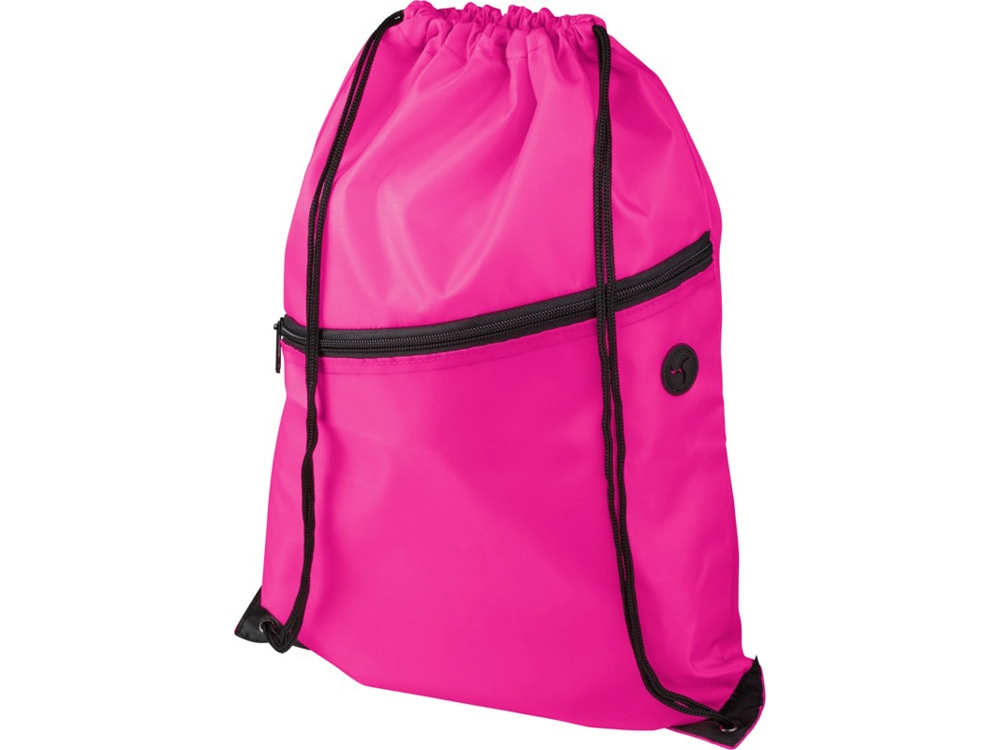 Рюкзак Oriole на молнии со шнурком, фуксия