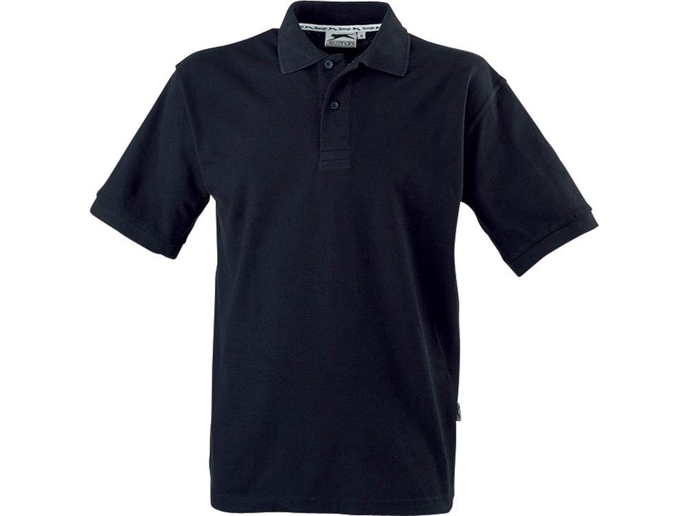 Рубашка поло Forehand детская, черный