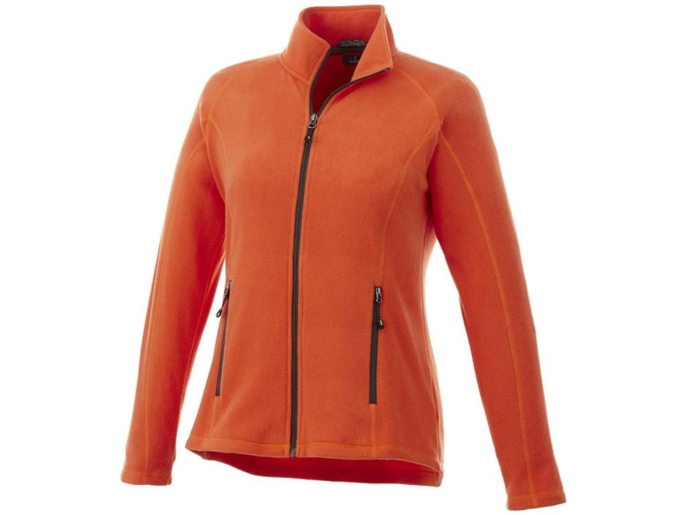 Джемпер из полифлиса Rixford женский, оранжевый