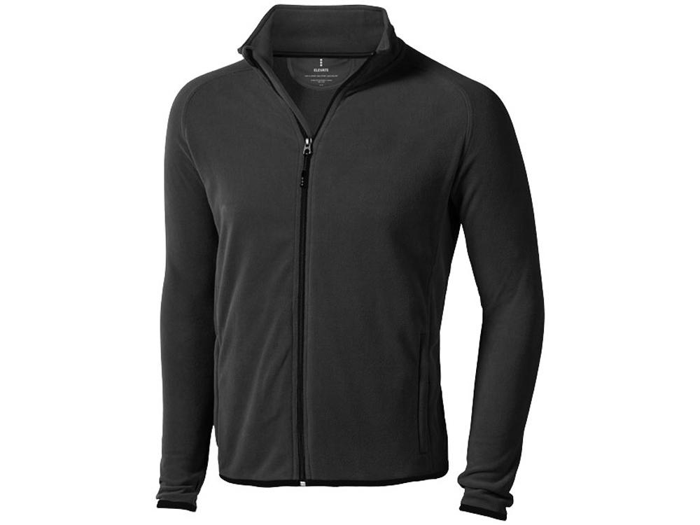Куртка флисовая Brossard мужская, антрацит