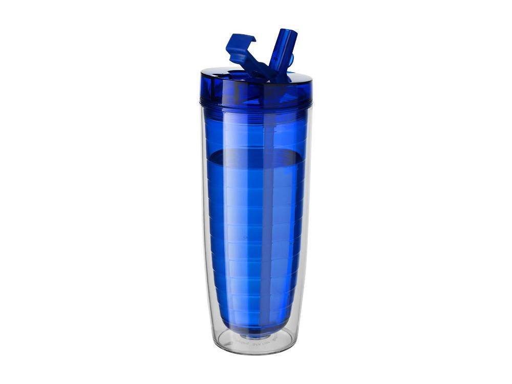 Термостакан Sippe, синий прозрачный