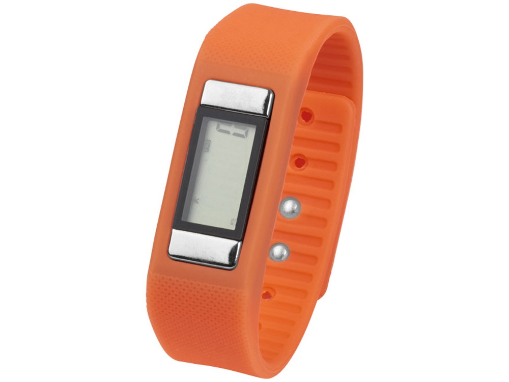 Часы-шагомер Get-Fitter, оранжевый