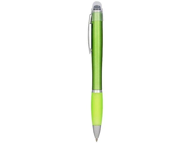 Ручка цветная светящаяся Nash, зеленый