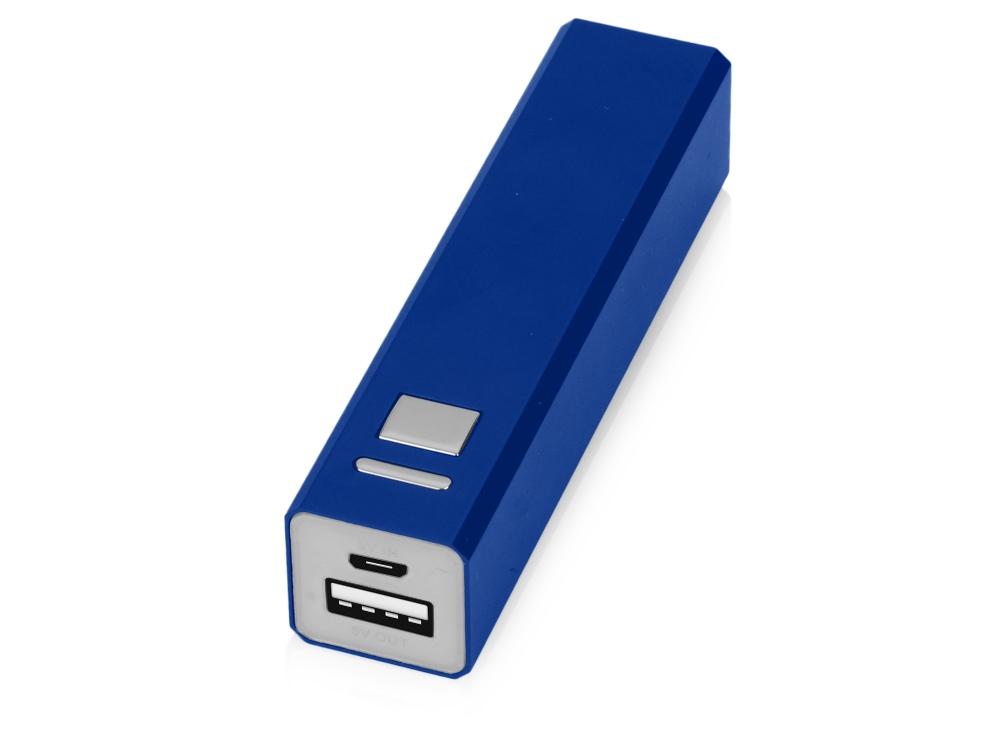 Портативное зарядное устройство Спейс, 3000 mAh, синий