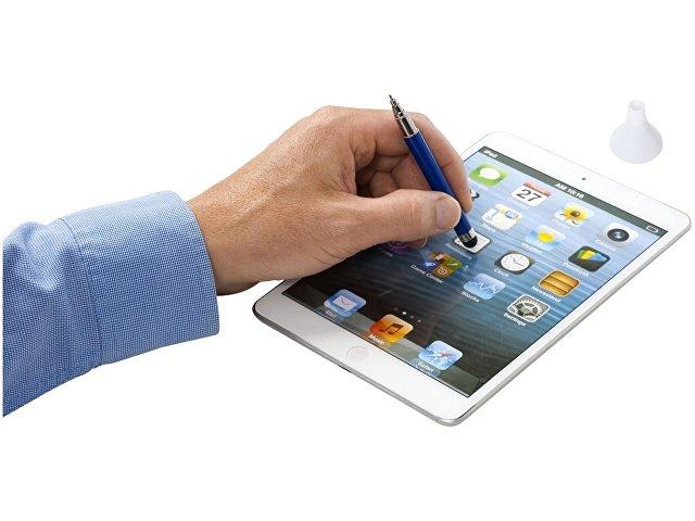 Ручка шариковая со стилусом, синий