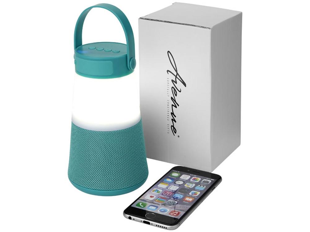 Светодиодная колонка Lantern с функцией Bluetooth®, мятный