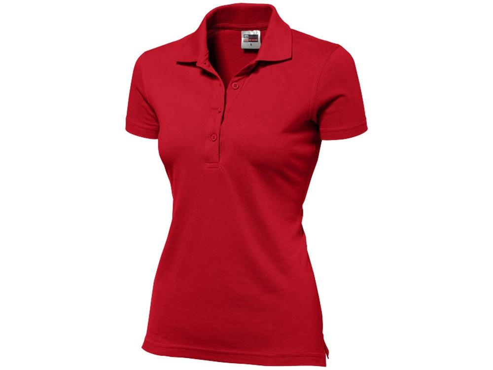 Рубашка поло First женская, красный
