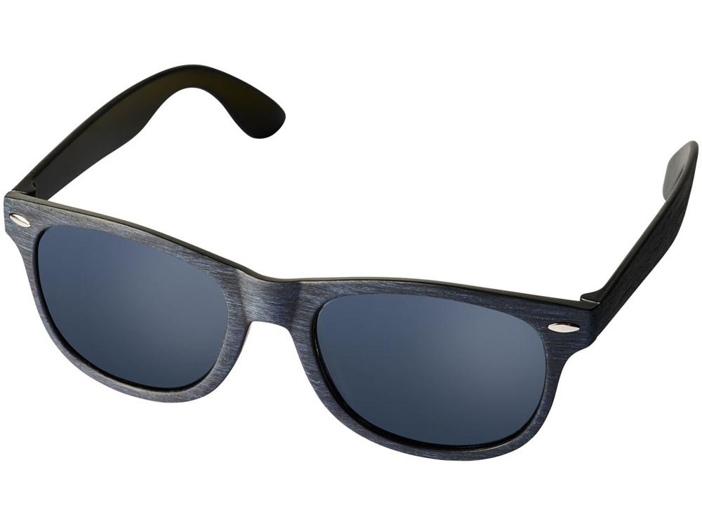 Солнечные очки Sun Ray с цветным покрытием, темно-синий