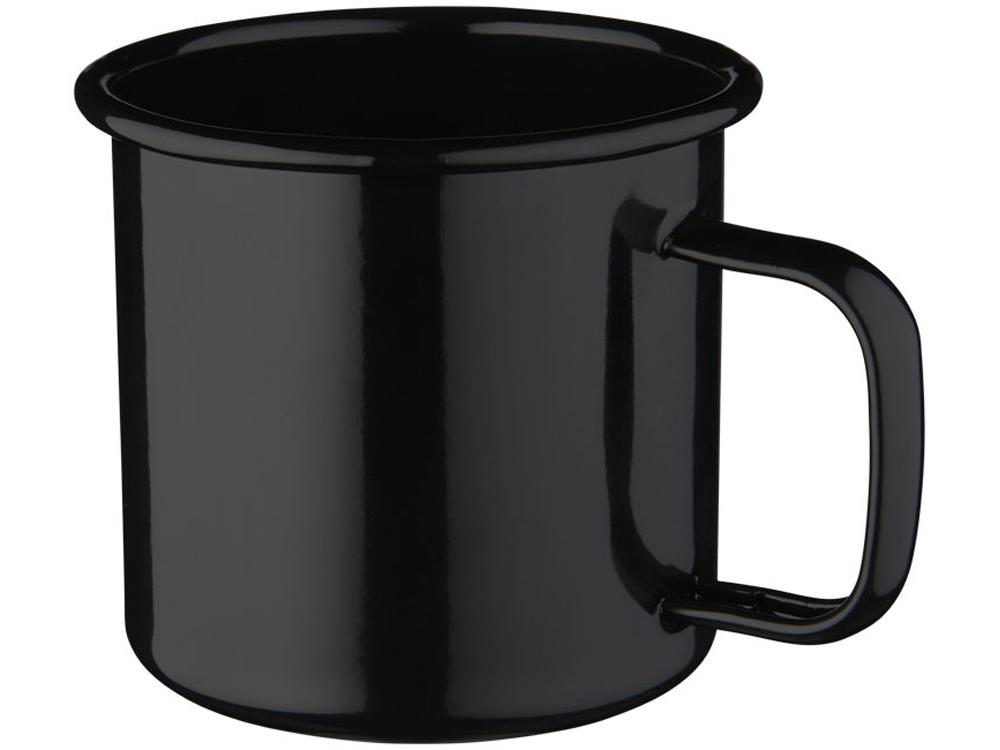 Кружка эмалированная Emal, черный