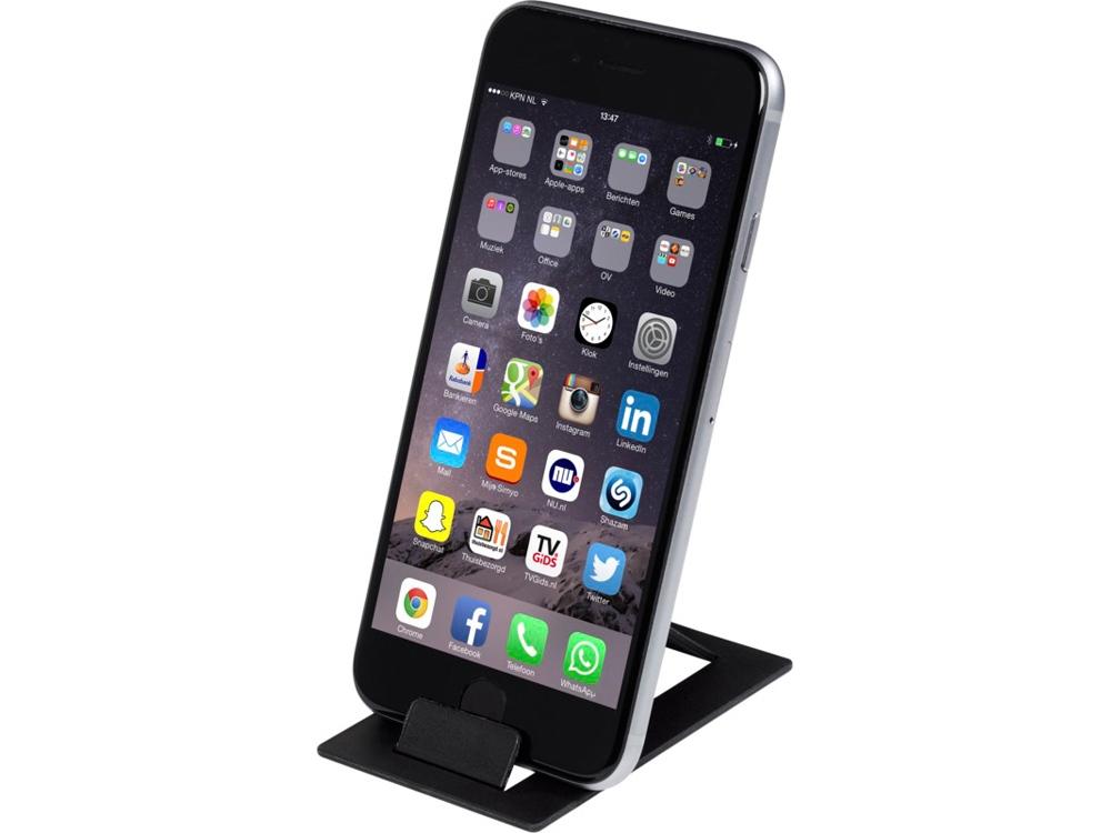Складывающаяся подставка для телефона Hold, черный