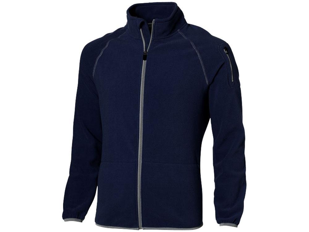 Куртка Drop Shot из микрофлиса мужская, темно-синий