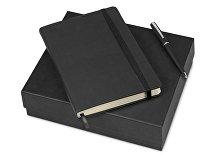 Подарочный набор «Megapolis Velvet»: ежедневник А5 , ручка шариковая (арт. 700396)