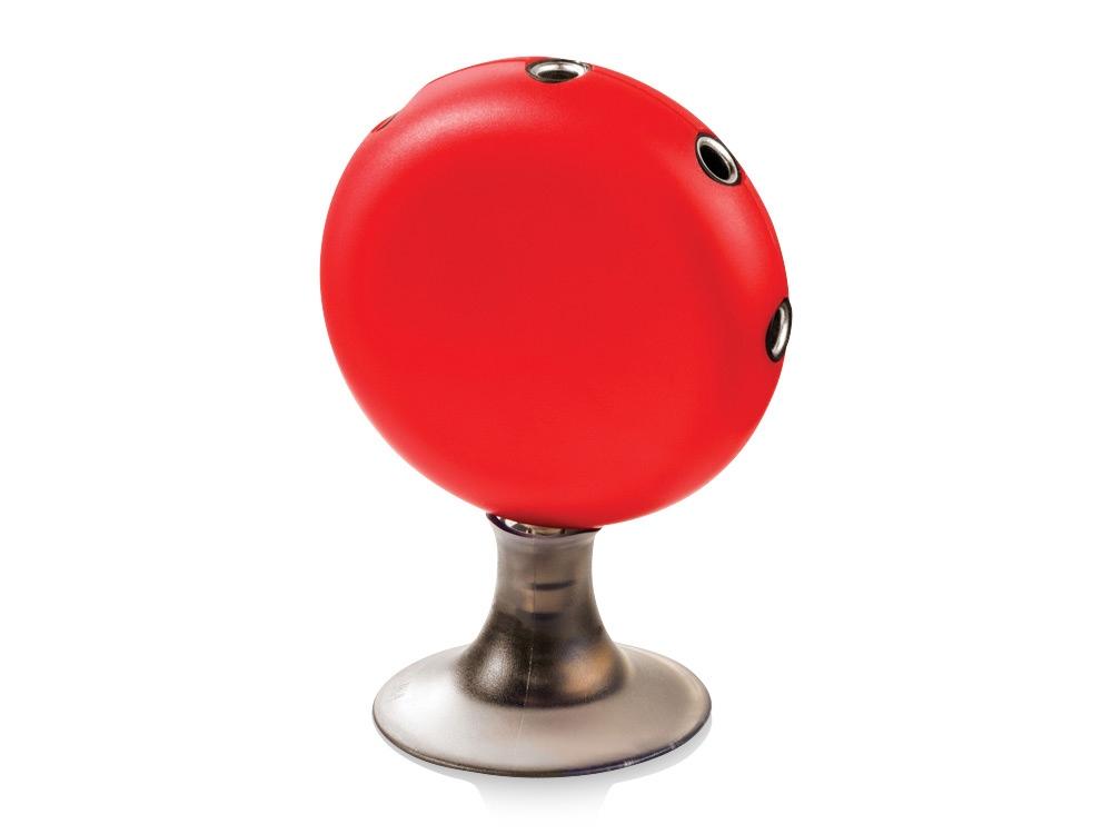 Аудиосплиттер-подставка Icona, красный