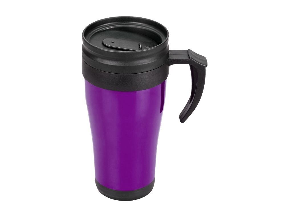 Кружка с термоизоляцией Silence 350мл, фиолетовый