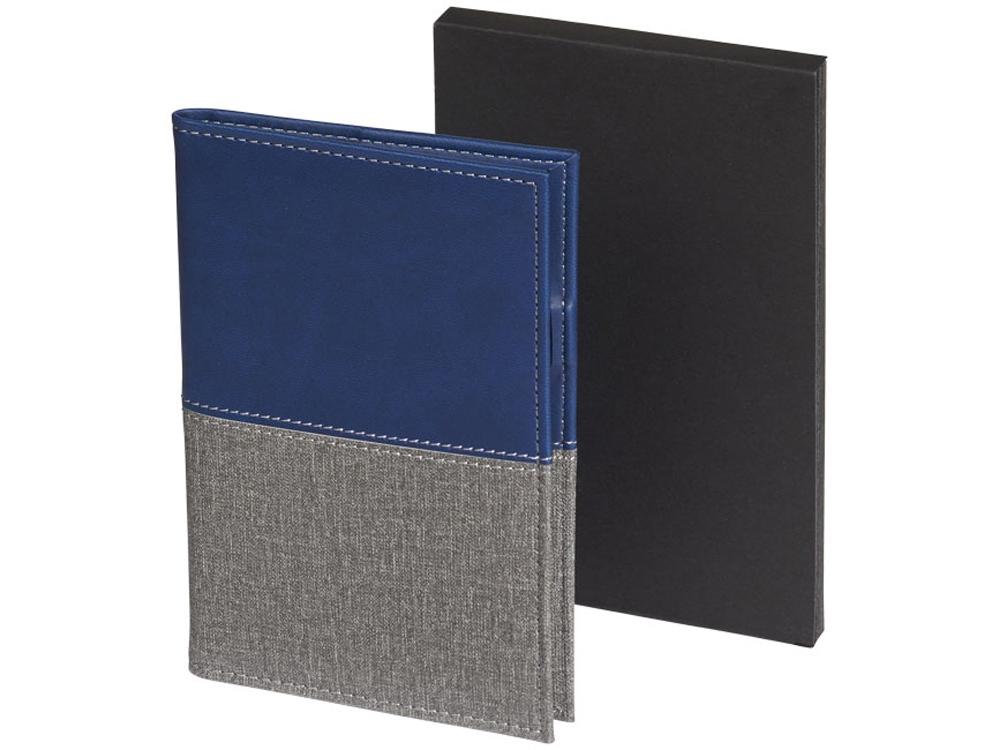 Обложка для паспорта Heathered, синий