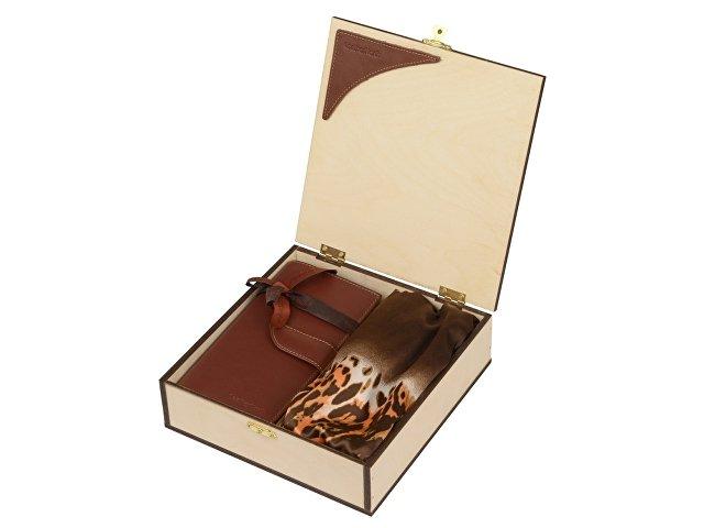 Набор: платок/шарф шелковый, дамское портмоне (арт. 600021.01)