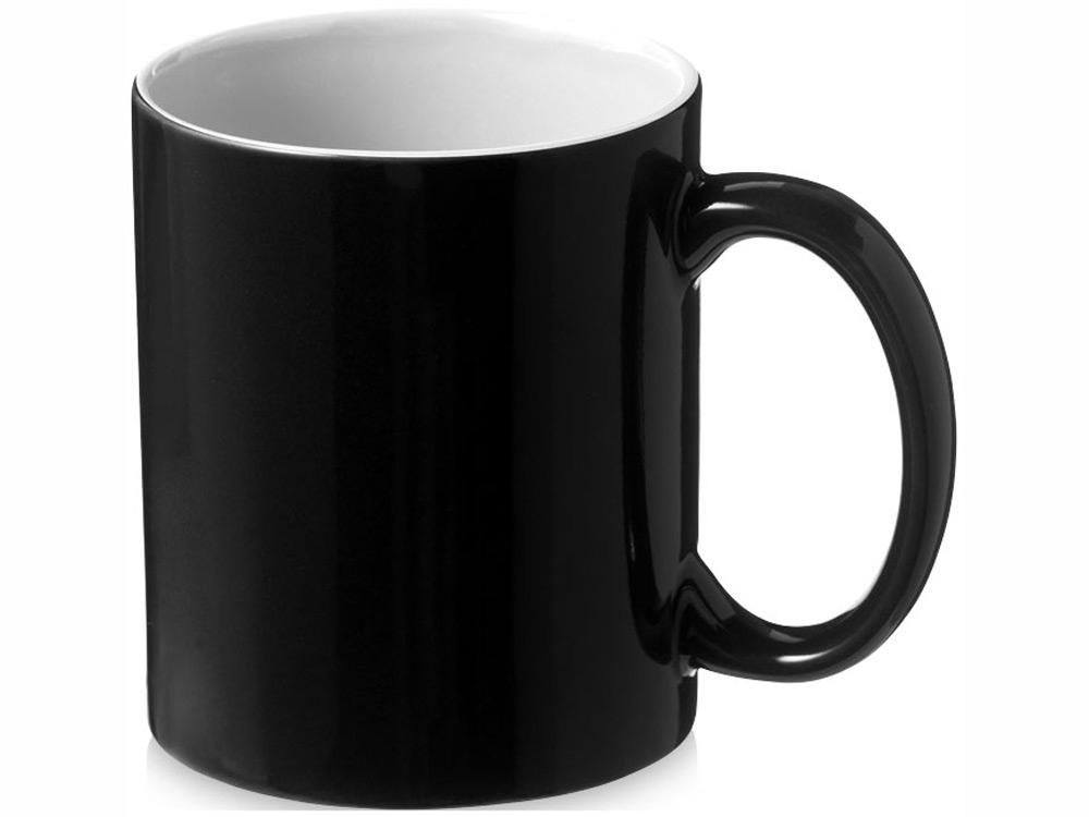 Кружка керамическая Java, черный/белый