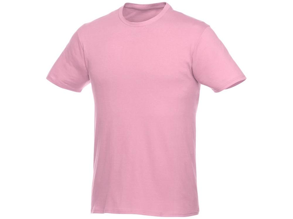 Футболка-унисекс Heros с коротким рукавом, светло-розовый