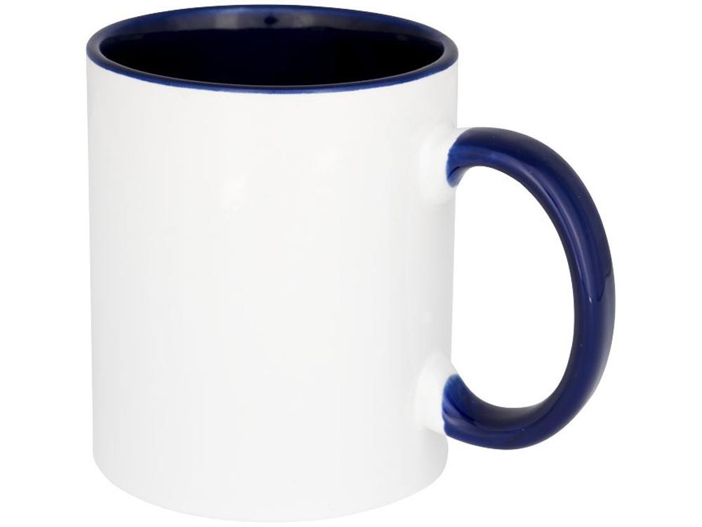 Цветная кружка Pix для сублимации, белый/синий