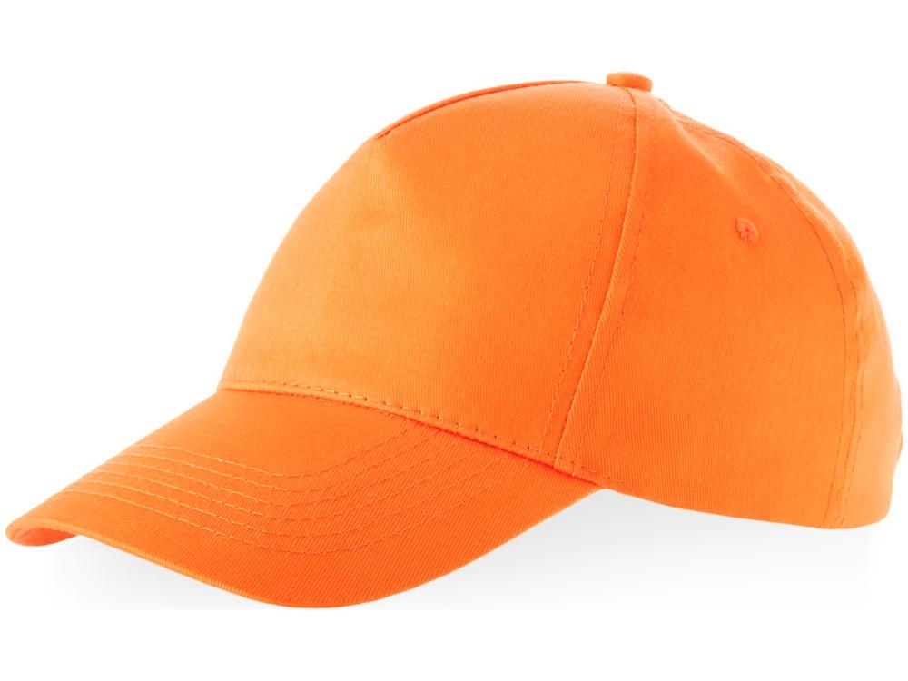 Бейсболка Memphis 5-ти панельная, оранжевый