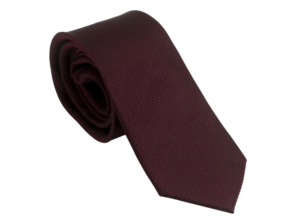 Шелковый галстук Uomo Burgundy