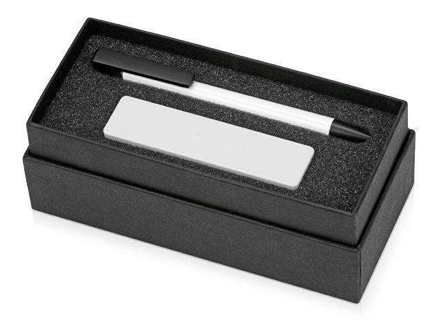 Подарочный набор Kepler с ручкой-подставкой и зарядным устройством, белый