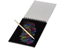 Цветной набор «Scratch»: блокнот, деревянная ручка (арт. 10705500), фото 2