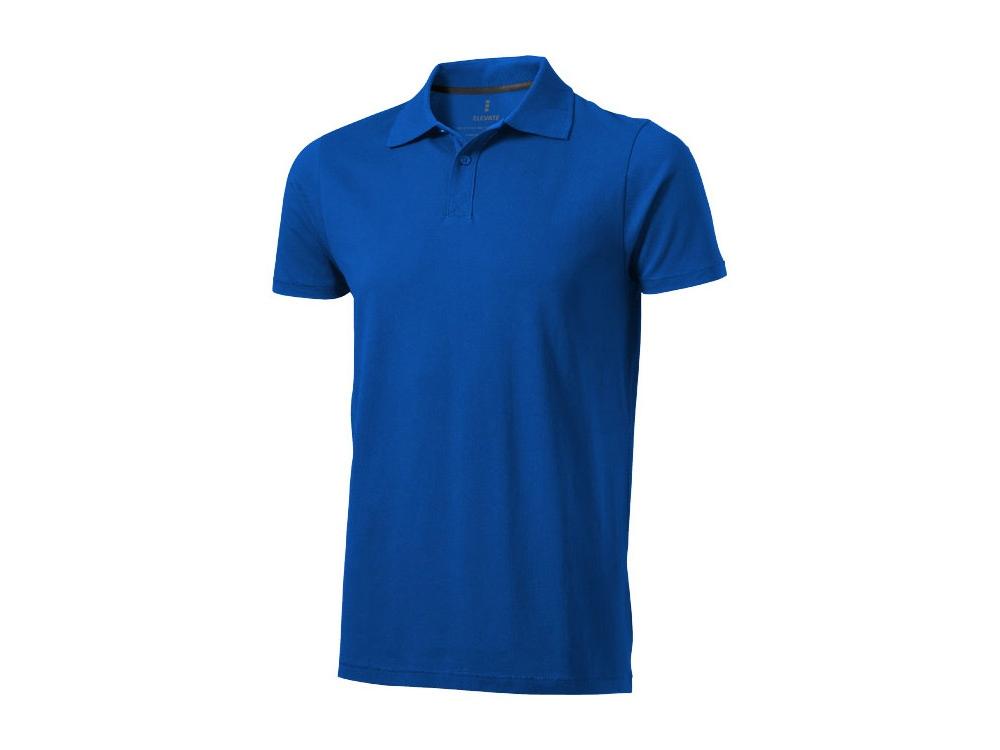 Рубашка поло Seller мужская, синий