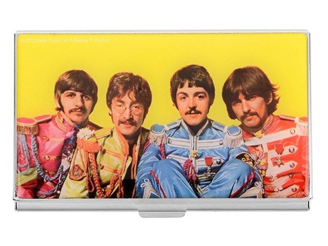 Набор The Beatles «Sgt.PEPERS»: визитница, ручка-роллер