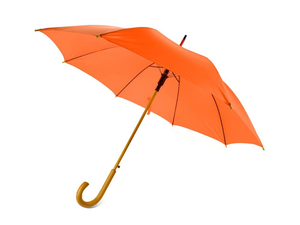 Зонт-трость Радуга, оранжевый