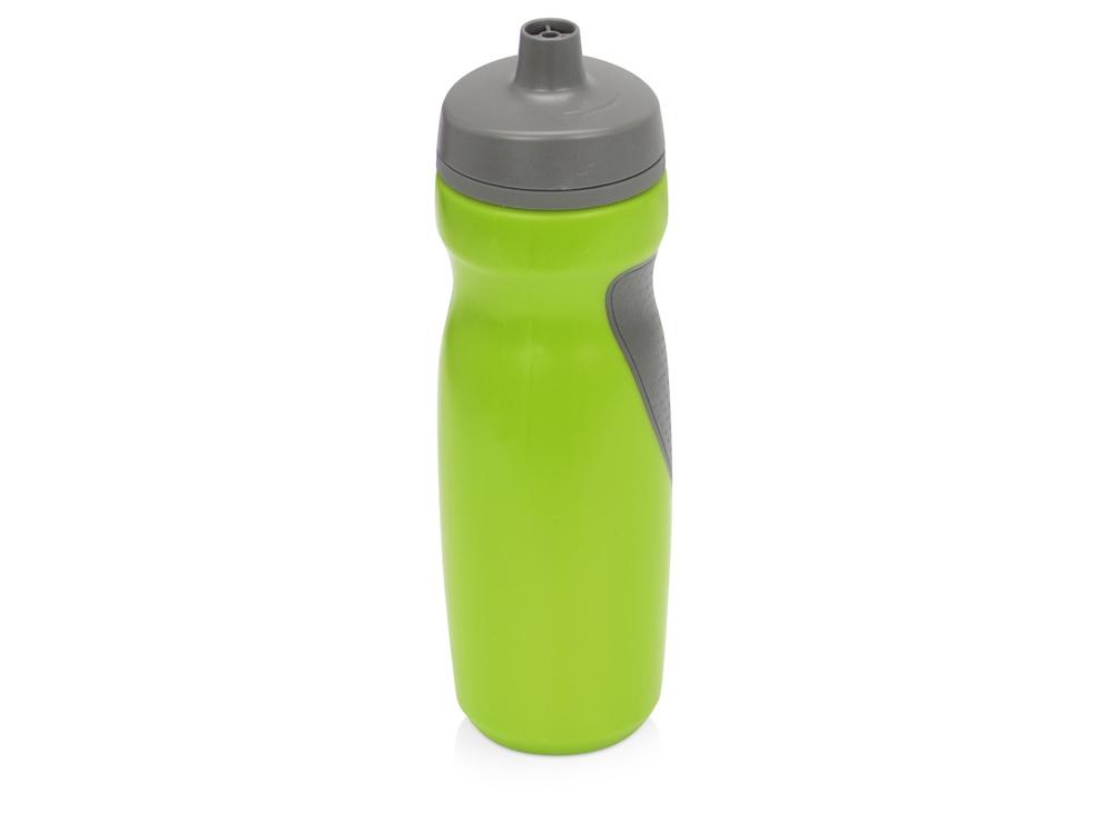 Спортивная бутылка Flex 709 мл, зеленый/серый