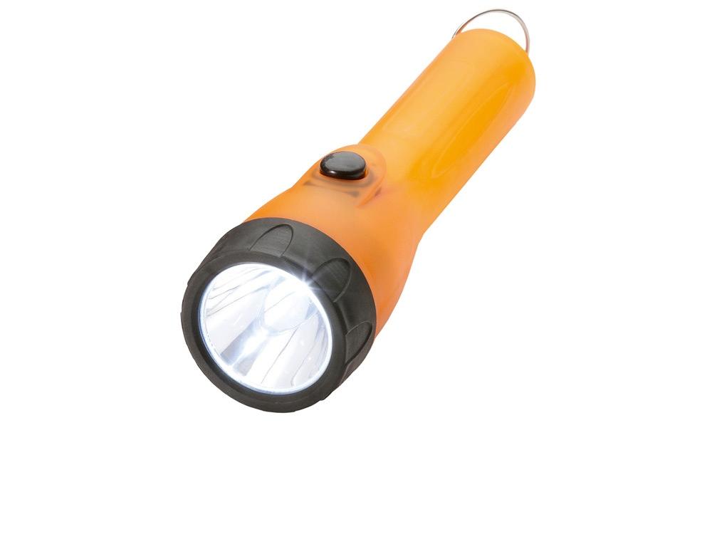 Фонарь Subra с кольцом для ключей, оранжевый