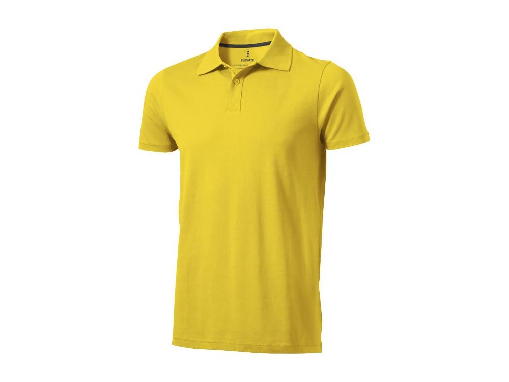Рубашка поло Seller мужская, желтый