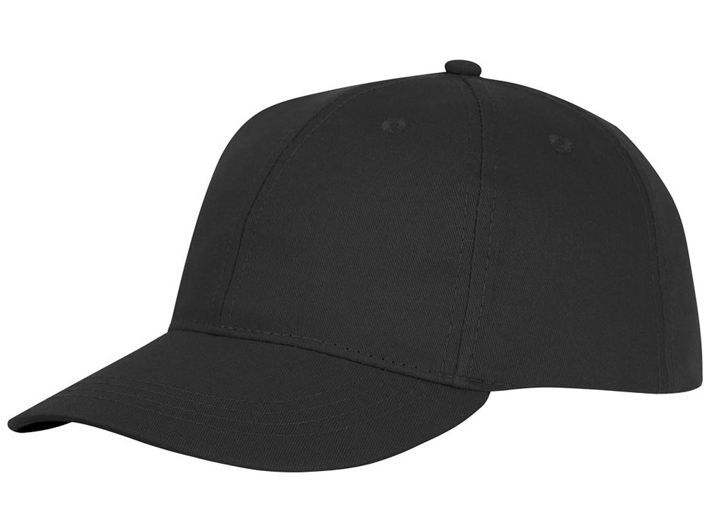 Шестипанельная кепка Ares, черный