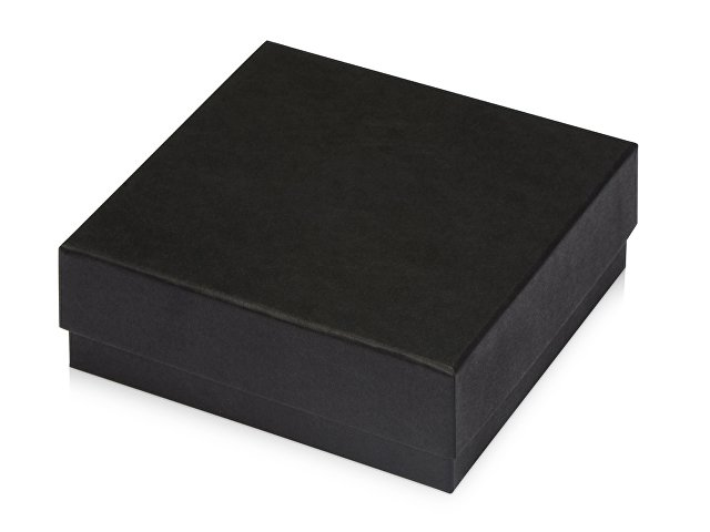 Подарочная коробка с эфалином Obsidian M 160х150х60, черный