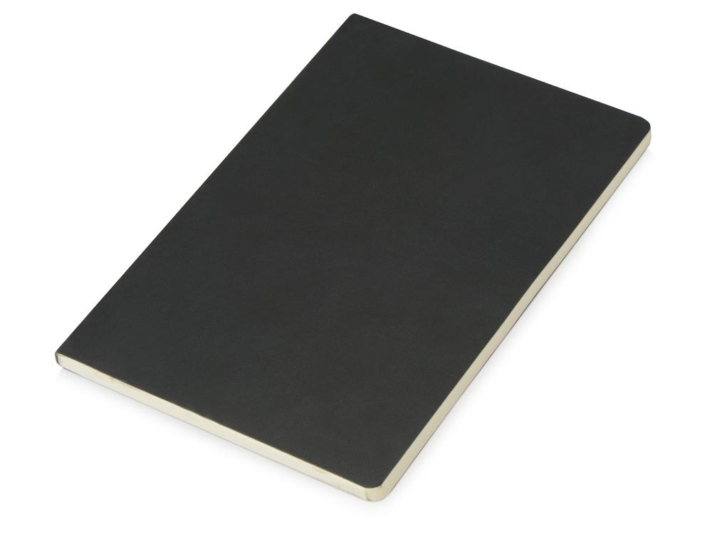 Блокнот Wispy линованный в мягкой обложке, черный