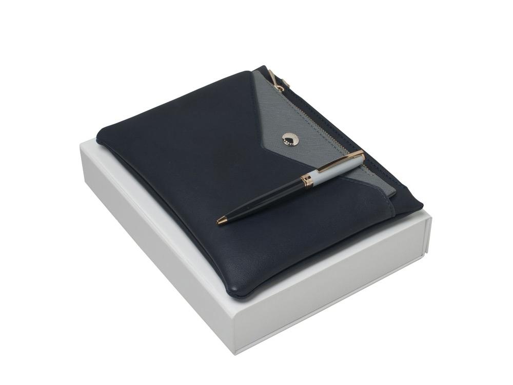 Подарочный набор Bird: ручка шариковая, сумочка. Cacharel