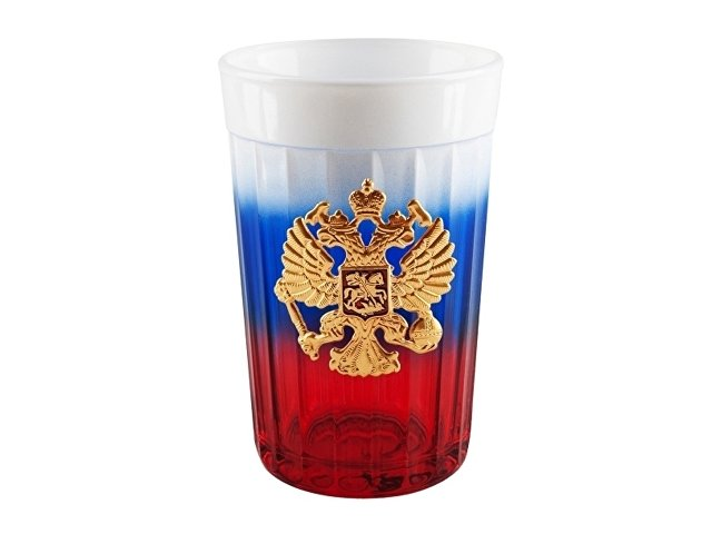 Граненый стакан «Россия» (арт. 8537)