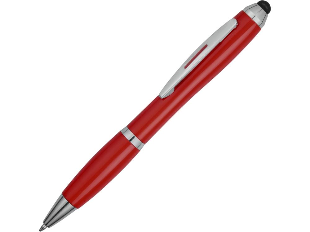 Ручка-стилус шариковая Nash, красный
