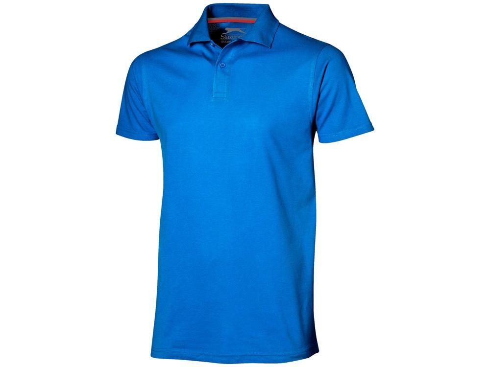 Рубашка поло Advantage мужская, небесно-голубой