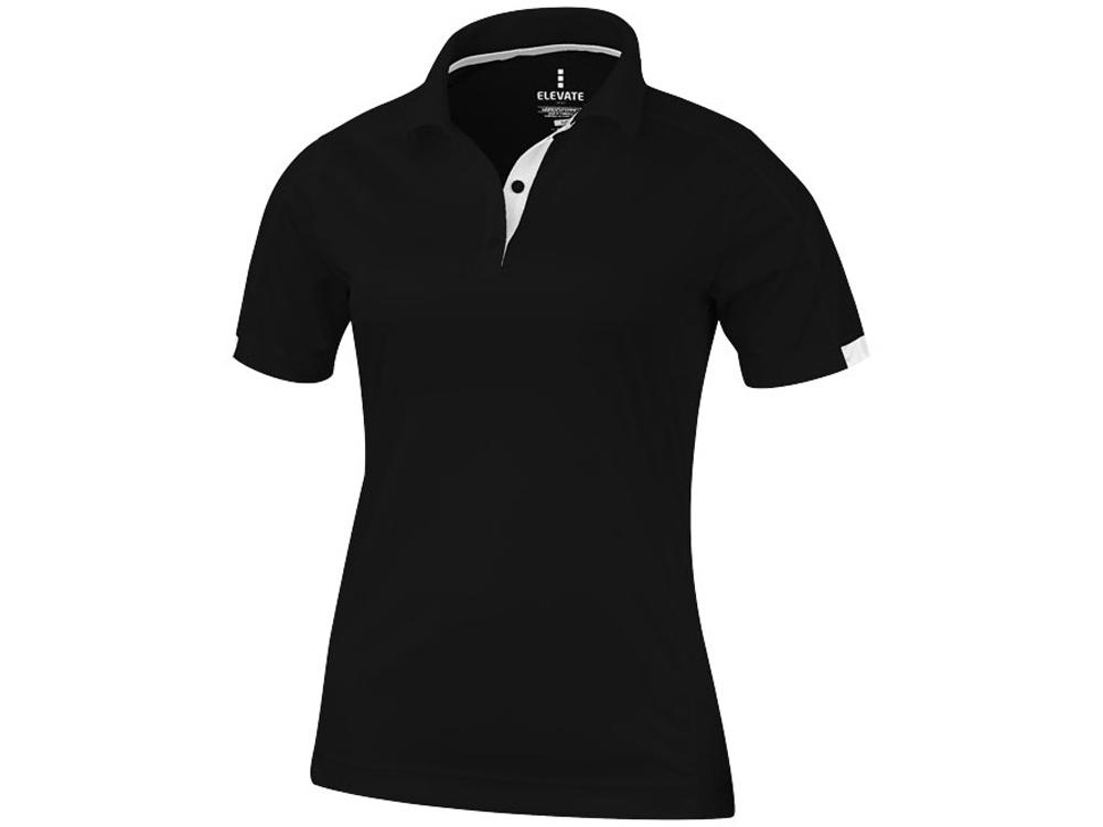 Рубашка поло Kiso женская, черный
